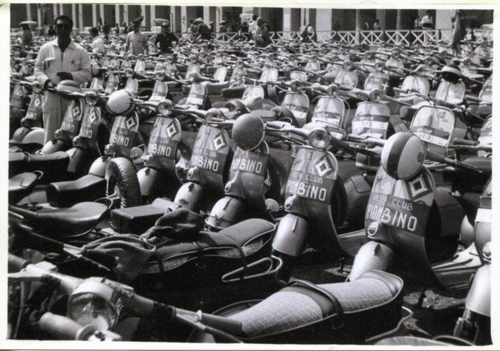 100 anni Unità d'Italia - Il raduno Vespa