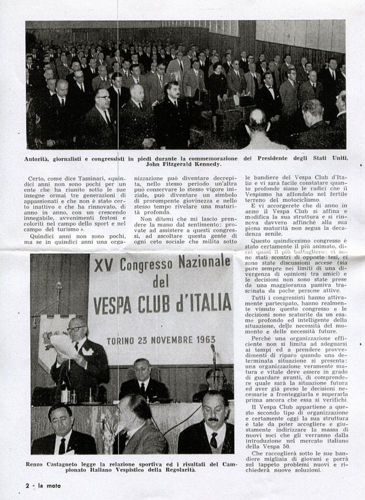XV Congresso VCI Torino 1963