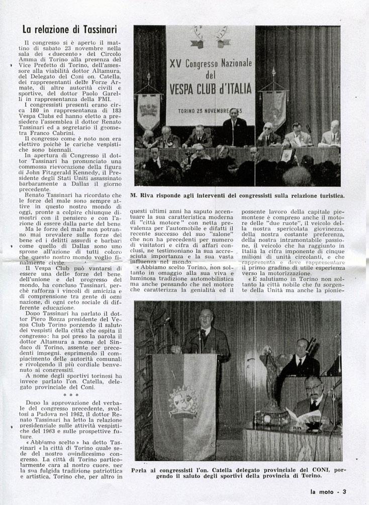 XV Congresso VCI 1963 Torino