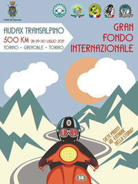 Audax Transalpino Torino Grenoble 2017