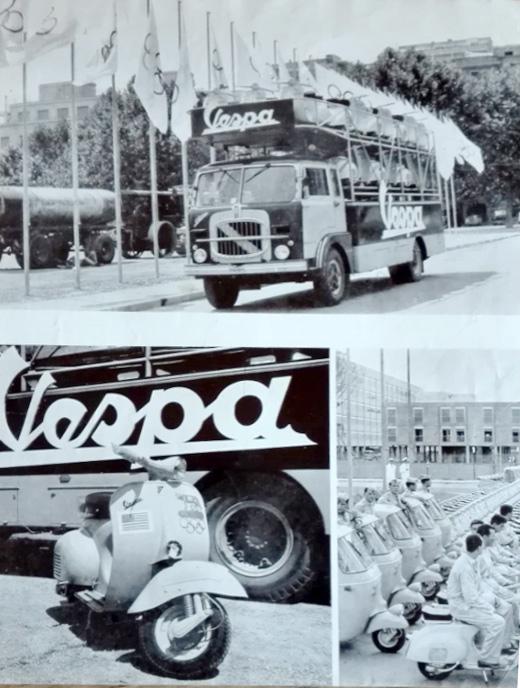 Vespa e Ape Olimpiadi Roma 1960